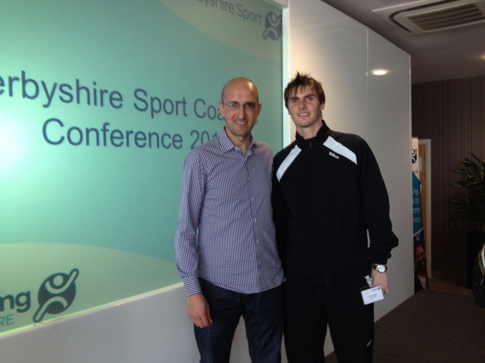 Matthew Syed and Dean George