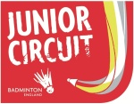 BADMINTON England Junior Circuit Logo