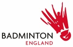BADMINTON England Tournament Logo