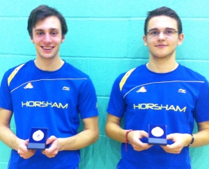 1311 Kent U19 Bronze Sam Phillips and Antony Barnett Doubles Silver