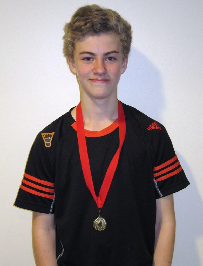 1311 U15B Surrey Jude Blackman Singles Gold