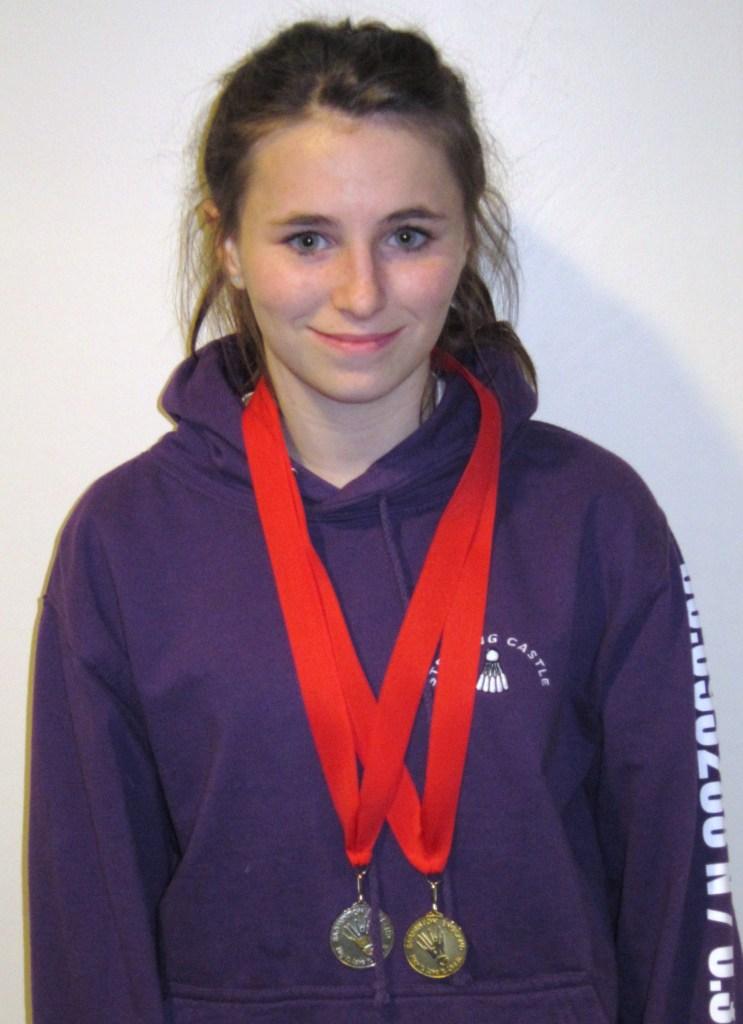 1311 U15B Surrey Vicky Roberts Singles Silver Doubles Gold