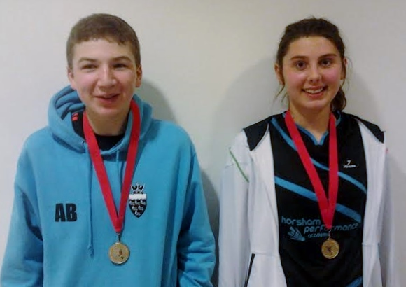 1401 U15S Warwickshire Mixed Gold Andrew Brownlie and Elysia Taylor