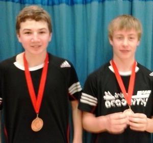 1403 U15G Surrey Doubles Bronze Andrew Brownlie