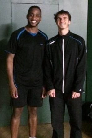 1411 Wimbledon Senior Gold Doubles Gold Dean George and Joel Gayle