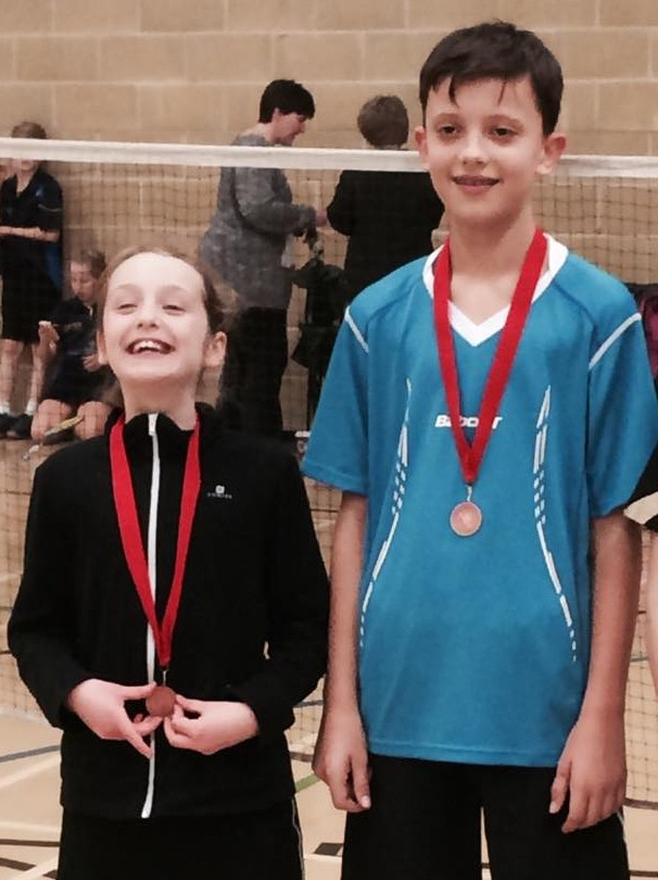 1410 U13B Oxfordshire Xander Tosney Bronze Mixed Doubles