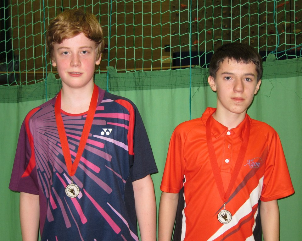 1501 U15S Warwickshire Owen West-Bourne and Harry Morgan Doubles Silver