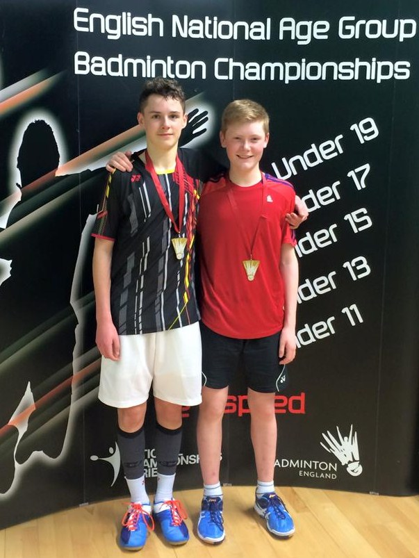 1503 U15 Nationals Zach Russ Doubles Gold